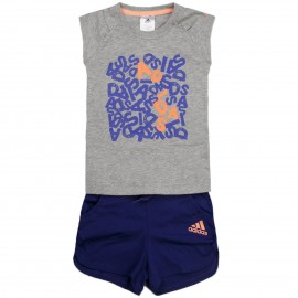 Ensemble LG RI SET violet Fille Entrainement Adidas