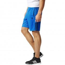 Short Entrainement Base3S bleu Homme Adidas