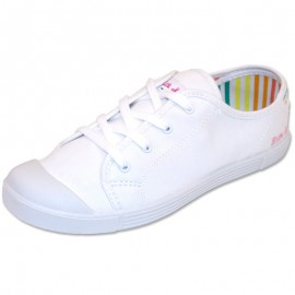 Chaussures Blanc Antibes Femme Little Marcel