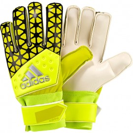 Gants Football ACE Training jaunes Garçon Adidas