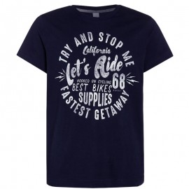 Tee-shirt Riders marine Garçon Esprit