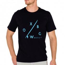 Tee Shirt TARIDA noir Homme Oxbow