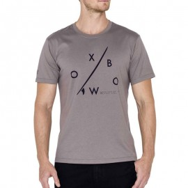 Tee Shirt TARIDA gris Homme Oxbow