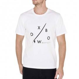 Tee Shirt TARIDA blanc Homme Oxbow