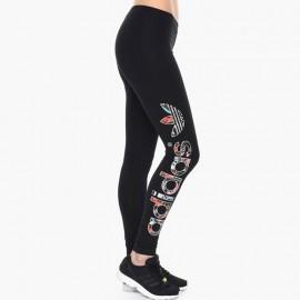 Legging LINEAR noir Femme Adidas