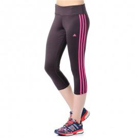 Collant 3/4 Basics Entrainement Prune Femme Adidas