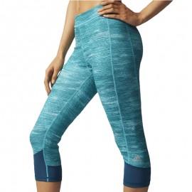 Collant Techfit Mac ROTH 3/4 vert Running Femme Adidas