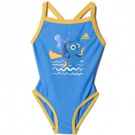 Maillot de bain DORY bleu Natation Bébé Fille Adidas
