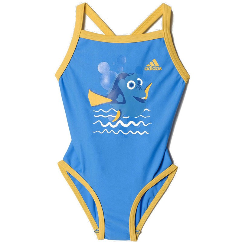 maillot de bain dory bleu natation b b fille adidas. Black Bedroom Furniture Sets. Home Design Ideas
