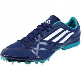 Chaussures Bleu Adizéro MD 2 Athlétisme Garçon/Homme Adidas