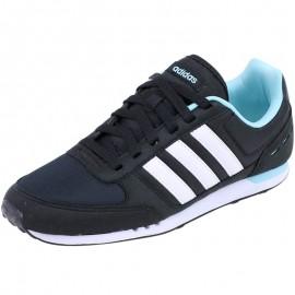 Chaussures Bleu City Racer Femme Adidas