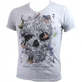Tee Shirt Gris Meribel Homme Kapsule
