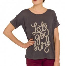 Tee Shirt Gris Femme Oxbow