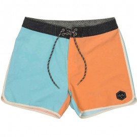 Short de bain REFILL RETRO orange Homme Rip Curl