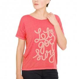 Tee Shirt Rose Femme Oxbow