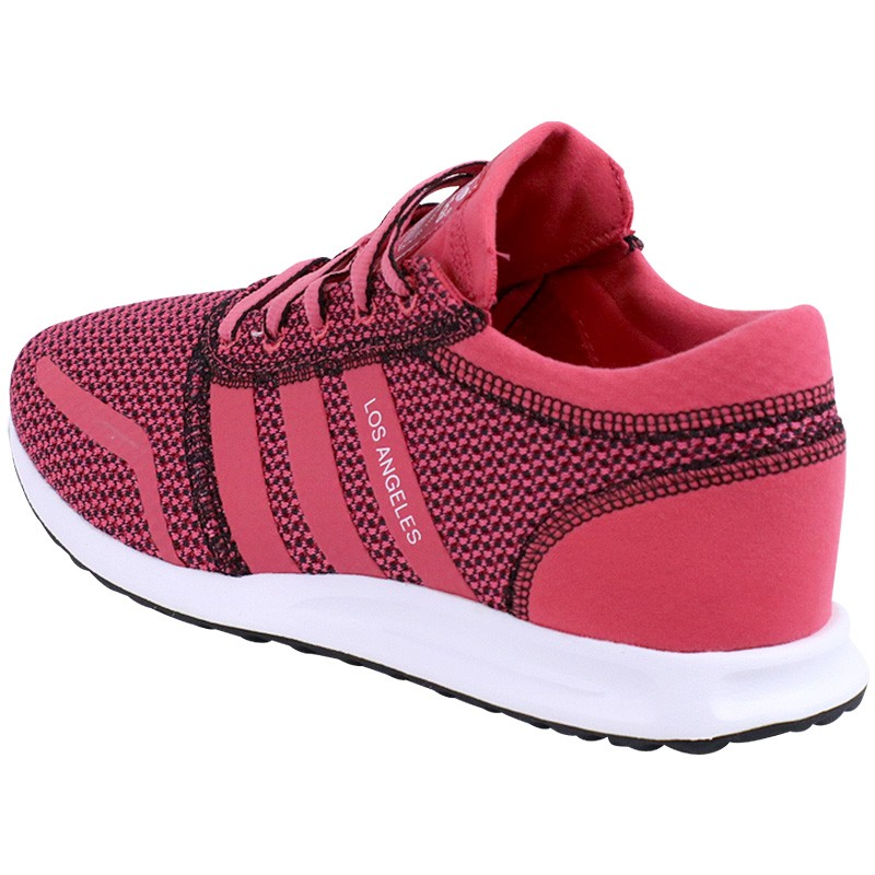 Chaussures Rose Los Angeles Femme Adidas Baskets