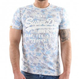 Tee Shirt Gris Shop Surf Homme Superdry