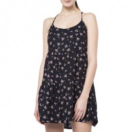 Robe Noir Vintage Ditsy Cami Dress Femme Superdry