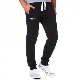Pantalon Jogging Bleu Orange Label Slim Homme Superdry