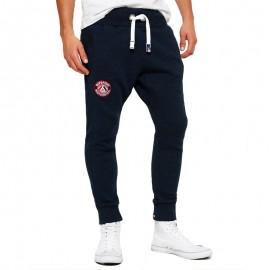 Pantalon Jogging Bleu Master Brand Jogger Homme Superdry
