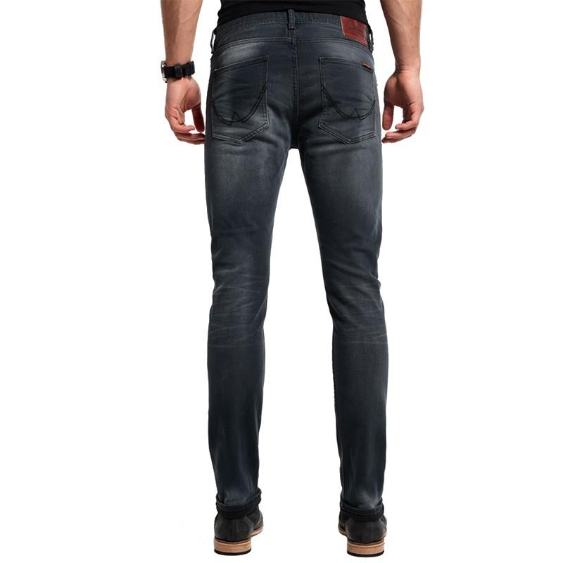 pantalon jean noir standar skinny homme superdry pantalons. Black Bedroom Furniture Sets. Home Design Ideas