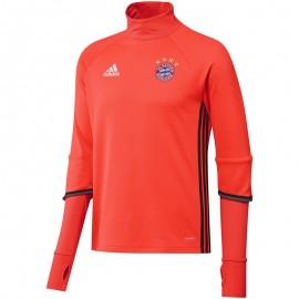 Sweat Rouge FC Bayern Munich 2016-2017 Football Homme Adidas