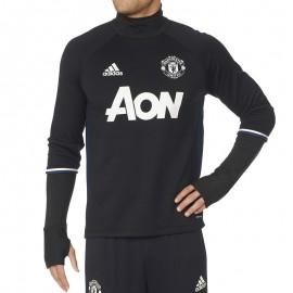 Sweat Noir Manchester United 2016-2017 Football Homme Adidas
