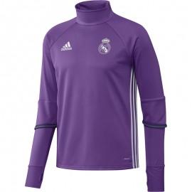 Sweat Violet Real Madrid 2016-2017 Football Homme Adidas