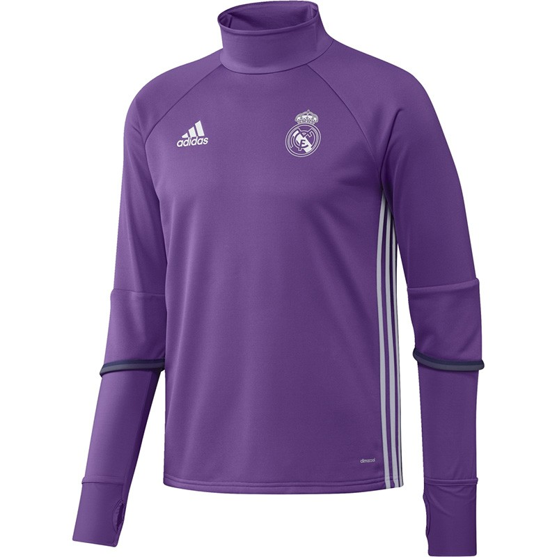 sweat violet real madrid 2016 2017 football homme adidas sweats. Black Bedroom Furniture Sets. Home Design Ideas