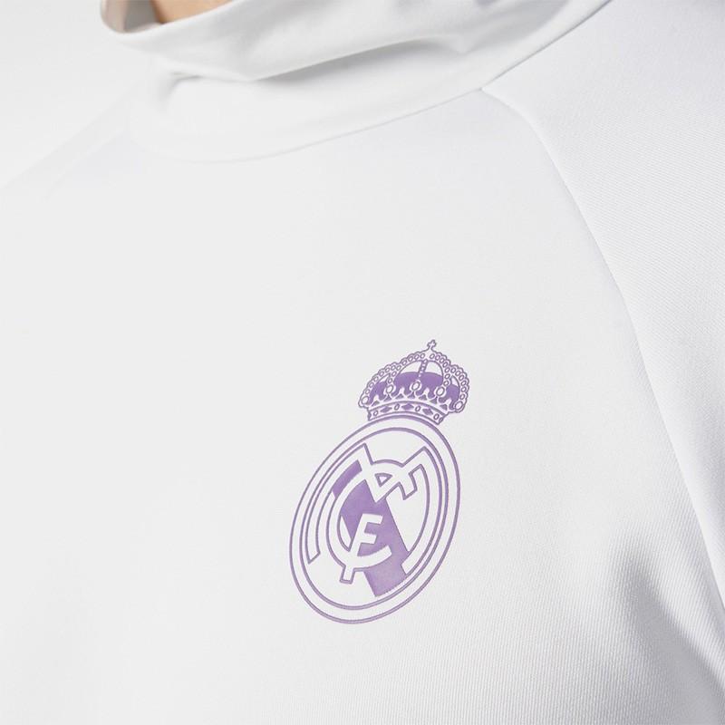 Sweat Blanc Real Madrid 2016 2017 Football Homme Adidas