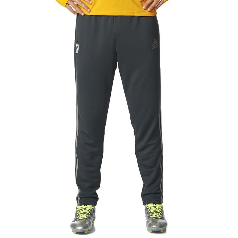 pantalon jogging gris juventus 2016 2017 football homme adidas pa. Black Bedroom Furniture Sets. Home Design Ideas