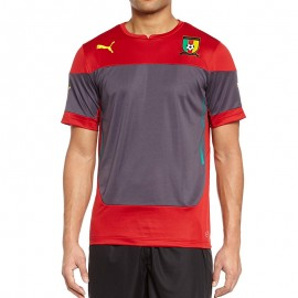 Maillot Entrainement Rouge Cameroon Football Homme Puma
