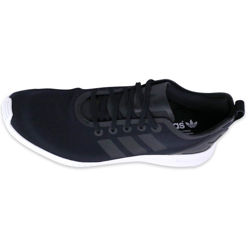 Chaussures Noir ZX Flux ADV Smooth Homme Adidas GjEr5db7