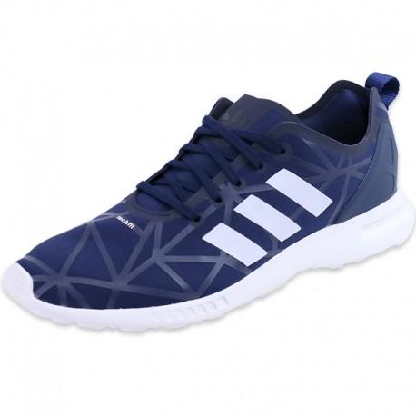 adidas Chaussures Bleu ZX Flux ADV Smooth Homme k229Lai6X