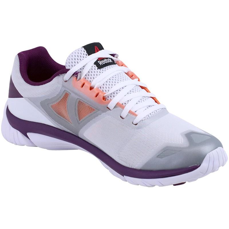 chaussures gris zstrike running femme reebok chaussures de running. Black Bedroom Furniture Sets. Home Design Ideas