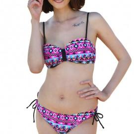 Maillot de bain bandeau rose Femme Sun project