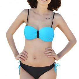 Maillot de bain bandeau turquoise Femme Sun project