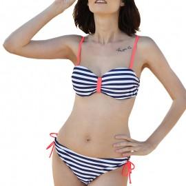 Maillot de bain bandeau marin Femme Sun project