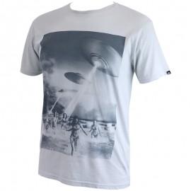 Tee Shirt Gris Beach Attack Homme Quicksilver