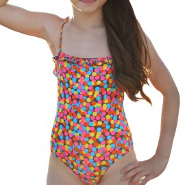 Maillot de bain rose Fille Sun project