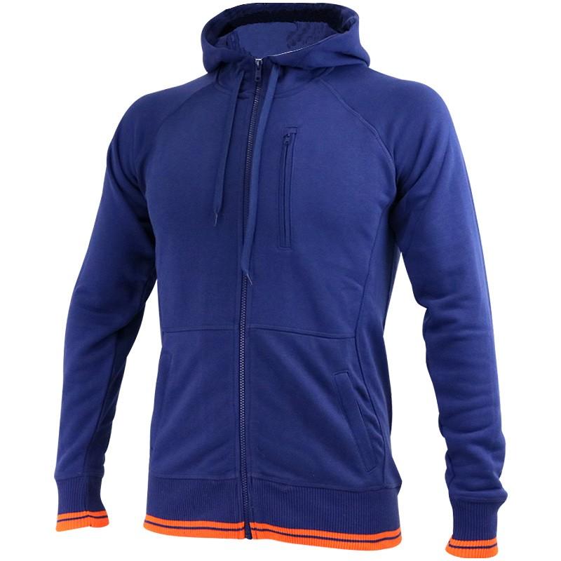 veste capuche bleu sport essentials entrainement homme asics ve. Black Bedroom Furniture Sets. Home Design Ideas