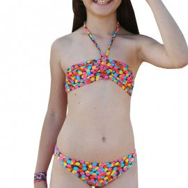 Maillot de bain Fille rose Sun project