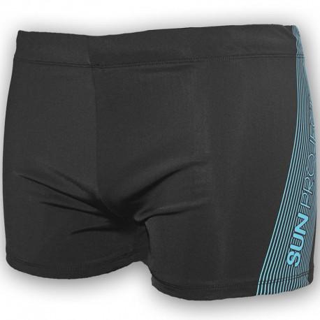 boxer de bain noir natation homme sun project maillots de bain. Black Bedroom Furniture Sets. Home Design Ideas