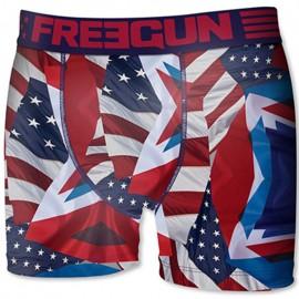 Boxer USA bleu Garçon Freegun