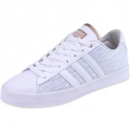 Chaussures Blanc Clouadfoam Daily QT LX Femme Adidas