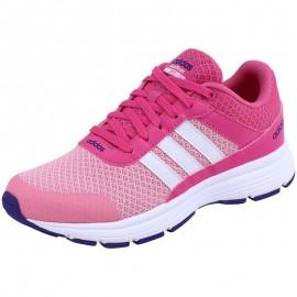 Chaussures Rose Cloudfoam VS City K Fille Adidas