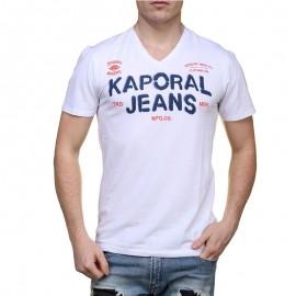 Tee Shirt TROPI blanc Homme Kaporal