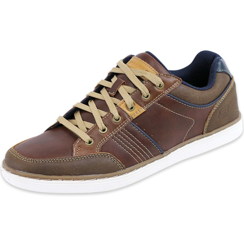 chaussures marron lanson rometo homme skechers baskets. Black Bedroom Furniture Sets. Home Design Ideas
