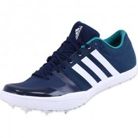 Chaussures Bleu Adizero LJ Athlétisme Homme Adidas