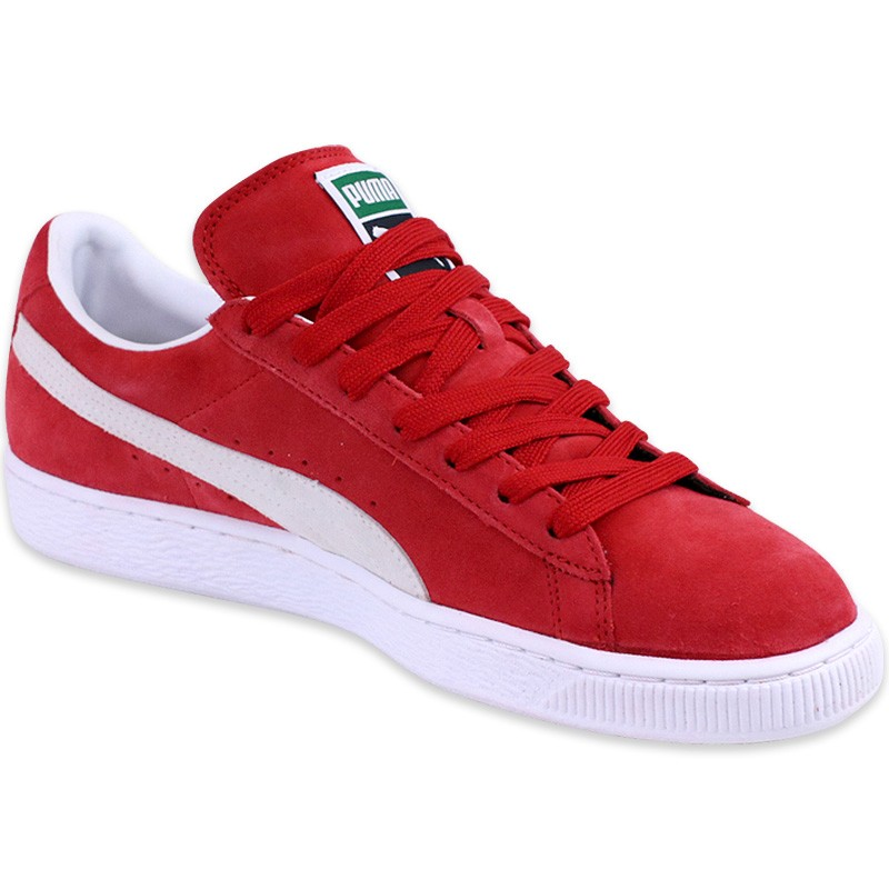 puma homme chaussures rouge